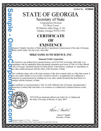 Georgia good standing certificate online corporate docs inc georgia good standing certificate yadclub Image collections