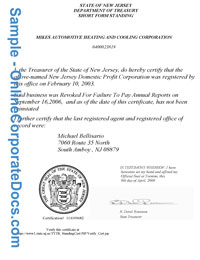 New jersey good standing certificate online corporate docs inc new jersey good standing certificate yadclub Gallery